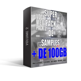 Super Pacote De Samples 2 (br Bass, Tech&deep House)(+100gb)