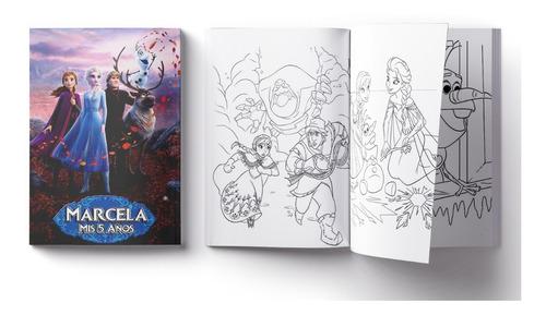 Libritos Pintar 10x7 Con 3 Lapices Colorear Personalizados