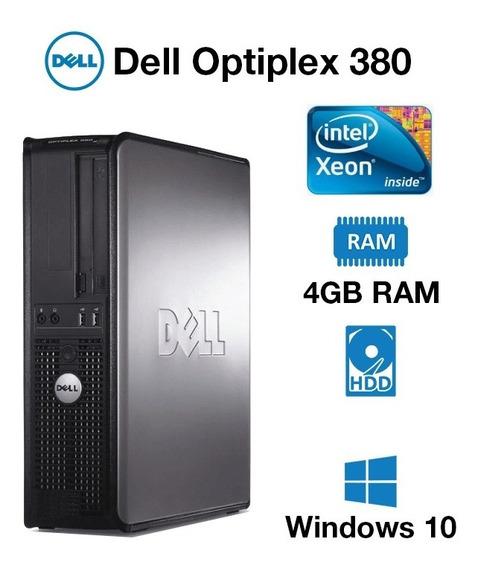 Cpu Dell Optiplex 380 Intel Quad Core 4gb Ddr3 Hd 500gb Pc