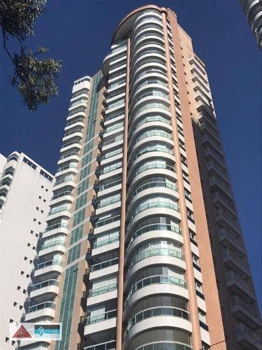 Imagem 1 de 30 de Apartamento Com 3 Dormitórios À Venda, 222 M² Por R$ 2.700.000 - Jardim Anália Franco - São Paulo/sp - Ap5432