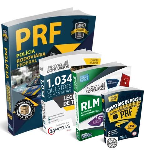 Kit Prf Apostila + Rlm + 2394 Questões - Completão