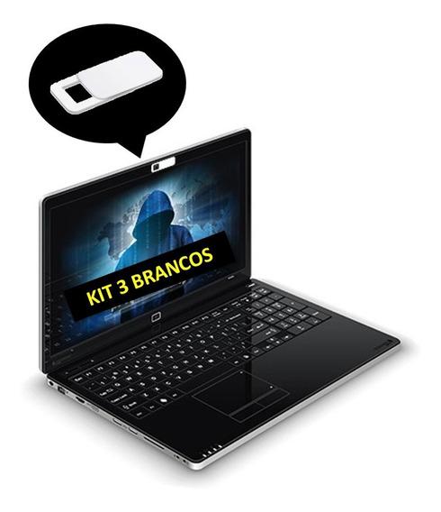 Pelicula Tampa Privacidade Webcam Notebook 3 Unidades
