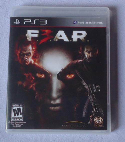 Fear 3 Ps3 * Frete Gratis