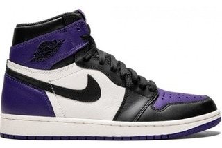Tenis Air Jordan 1 Retro High Og Court Purple/sail-black