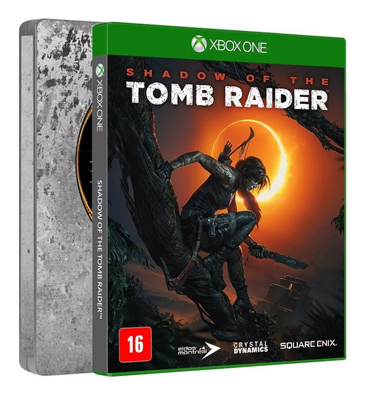 Shadow Of The Tomb Raider Steelbook Edition Xbox One Física