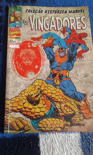 Hq Os Vingadores Edição Historica N.2