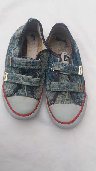 Tênis Starzinho Jeans - 33 - F&s