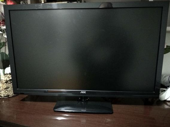 Tv Aoc 23,6 Com Defeito Na Tela