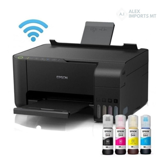 Impressora Epson L3150 Color Tanque De Tinta Usb Wifi Cuiaba