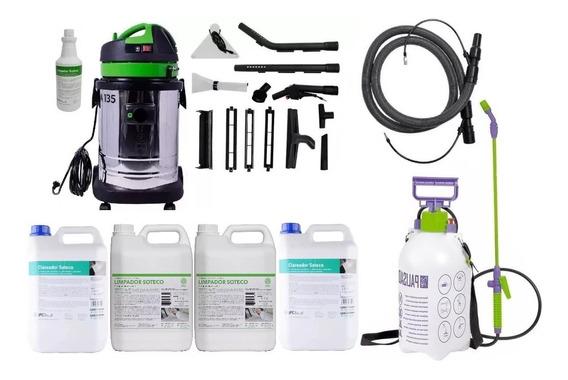 Lavadora Extratora Aspirador A135 Ipc Soteco + Kit Higienização