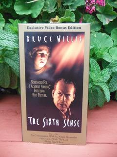 The Sixth Sense - Bonus Edition - (vhs) Original