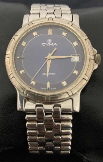 Relógio Cyma Quartz Raridade