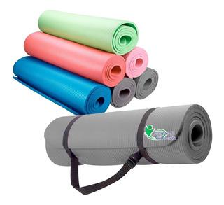 Colchoneta Mat Yoga Pilates Profit 1 Cm Abdominales Gimnasio