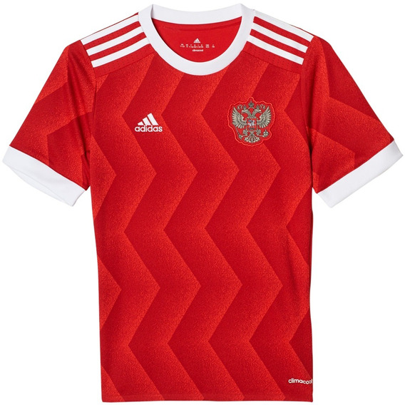 Playera Jersey Local Rusia 17/18 Niño adidas Br6586