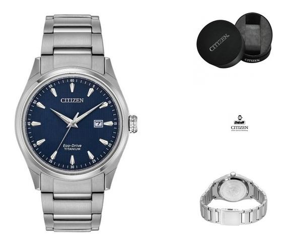 Reloj Citizen 61024 Bm7360-82 Ecodrive Titanio Azul Fullfc