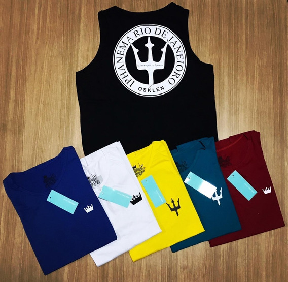 Kit De 10 Camisas Regatas Masculinas