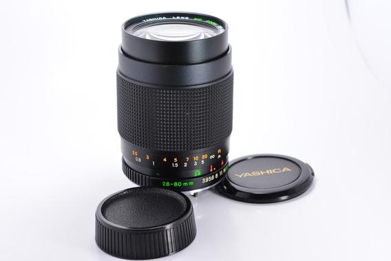 Lente Yashica Zoom 28-80mm F/3.9 Macro Full Frame Mont C/y