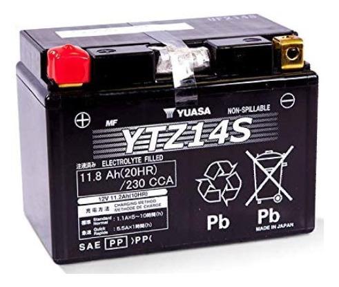 Batería De Moto Yuasa Ytz14s. Delivery.
