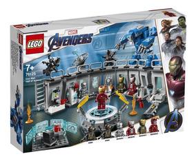 Lego Vingadores Homem De Ferro O Salao Das Armaduras 76125
