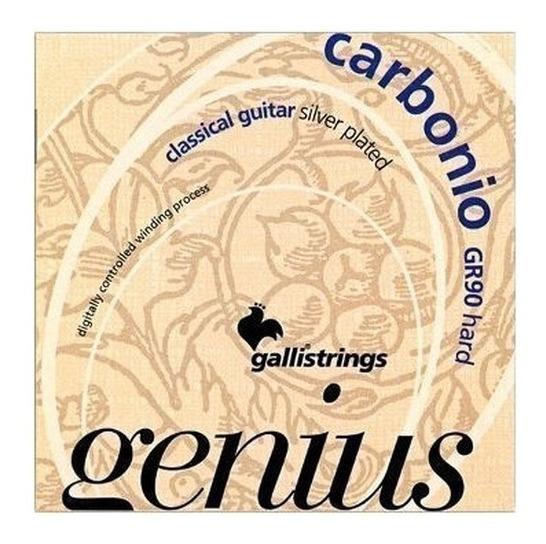 Cuerdas Guitarra Clasica Carbono Gallistrings Tension Alta