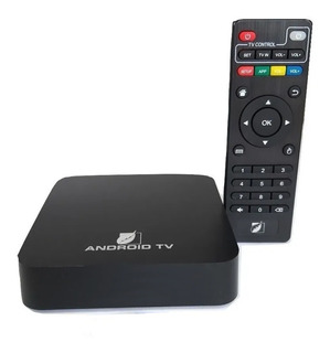 Smart Tv Box Android Tv Hd Green Leaf Wifi Cualquier Tv Hdmi