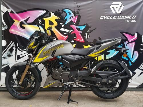 Tvs Rtr 200 V4 Naked 2021 0km Carburada Al 18/2 Cycle World