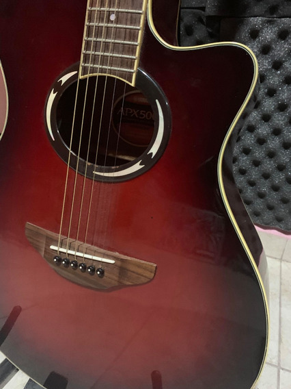 Guitarra Yamaha Apx 500 Ii Electroacustica Inmaculada