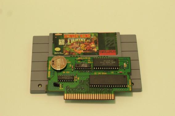 Donkey Kong 100% Original Para Super Nintendo Snes Cod01