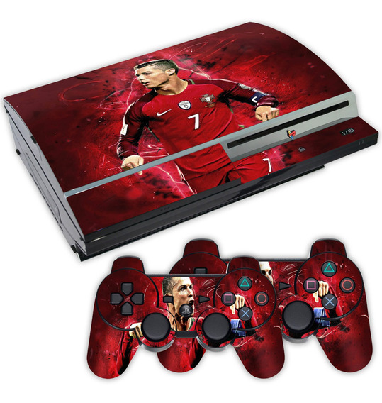 Skin Ps3 Fat Cristiano Ronaldo Cr7