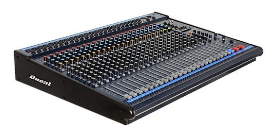 Mesa Oneal Omx-24.8plus (24ch/p10/xlr/usb/8 Aux)