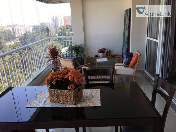 Apartamento Com 3 Dormitórios, 158 M² - Venda Por R$ 1.255.000,00 Ou Aluguel Por R$ 7.000,00/mês - Edifício Ghaia - Santana De Parnaíba/sp - Ap1045