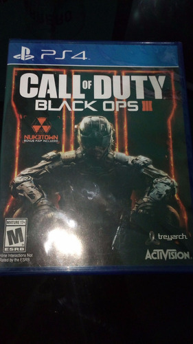 Call Of Duty Black Ops 3 Ps4 , Nuevo Y Sellado.