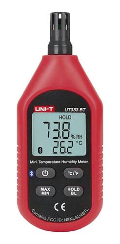 Mini Termohigrómetro Digital Ut333bt Uni-t