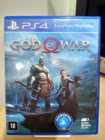 God Of War 4 Ps4 Usado Frete Cr 12,00
