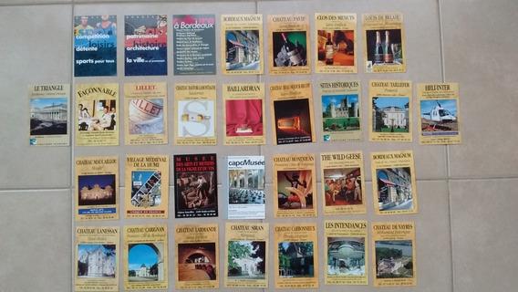 Tarjetas Publicitarias, Década ´80, Vinos, Bodega