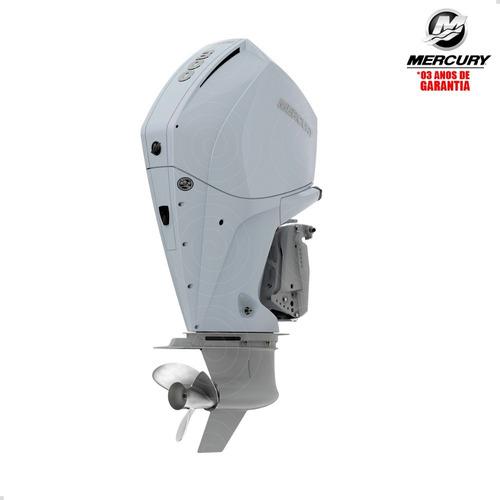 Motor De Popa Mercury 4t 300hp Cxl V8 Dts Pess Física Branco