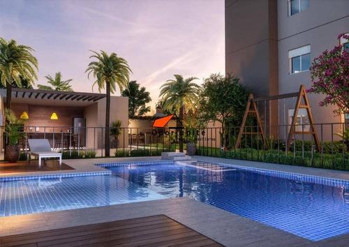 Apartamento Com 2 Dormitórios À Venda, 43 M² Por R$ 145.000,00 - Vila Tibério - Ribeirão Preto/sp - Ap1364