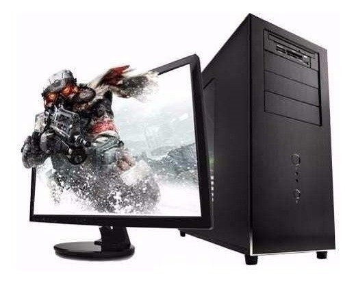 Computador Gamer 4gb,hd 1tb P.vídeo 2gb,monitor Lcd 19!