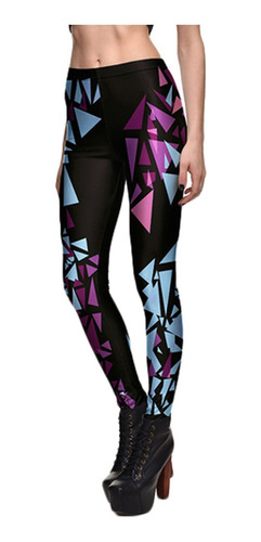 Leggings Estampados Deportivos Yoga Danza Correr Casual