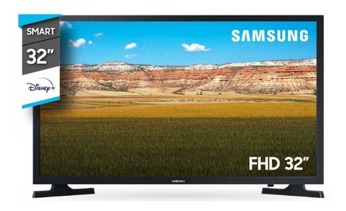 Imagen 1 de 2 de Smart Tv 32  Samsung 32t4300a Hd