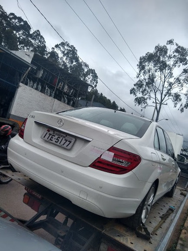 Sucata Mercedes Benz C180 2012/2012 Gasolina 156cvs