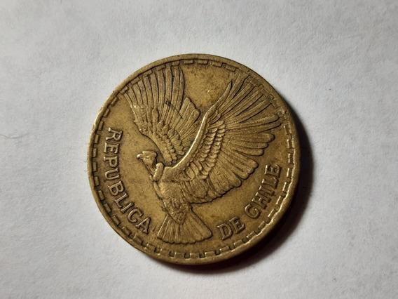 Chile 10 Centésimos 1964 Bronce De Aluminio Km#191 Lote 3989