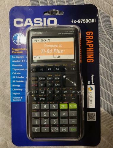 Calculadora Casio Fx - 9750giii  Nueva