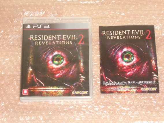 Resident Evil Revelations 2 + Artbooklet - Ps3 - Frete R$ 17