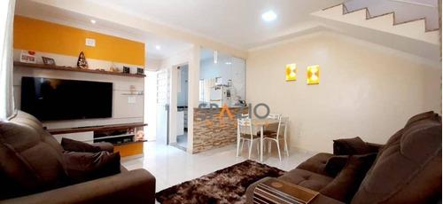 Imagem 1 de 15 de Sobrado Com 2 Dormitórios À Venda, 135 M² Por R$ 450.000,00 - Estádio - Rio Claro/sp - So0086