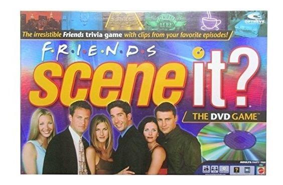 Scene It? Juego Amigos Edición Junta De Dvd