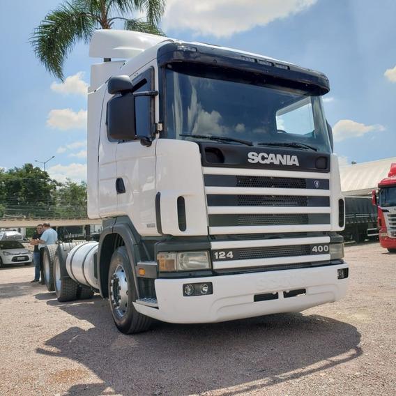 Caminhão Scania Modelo R400 2005 6x2 - Com Novo Motor
