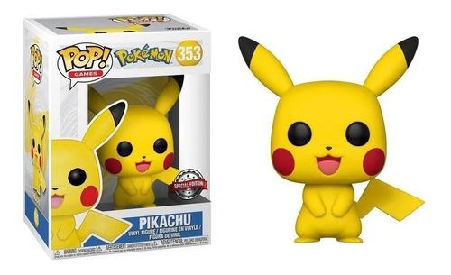 Funko Pop Pikachu #353 Pokemon Special Edition Regalosleon