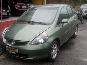 Honda Fit 1.4 Lxl 2004 Aut.cvt Couro 5p Revisado Novo