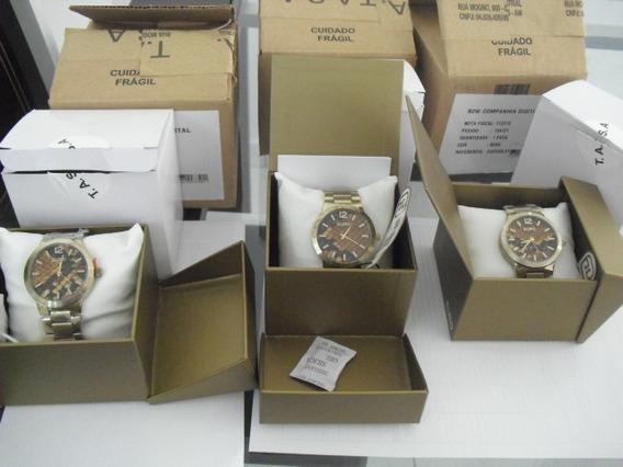 Lote Com 3 Relógios Unissex Euro Eu2036lxy/4x Com Avaria